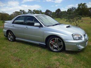 2005 Subaru Impreza MY05 WRX (AWD) Silver 5 Speed Manual Sedan Mordialloc Kingston Area Preview