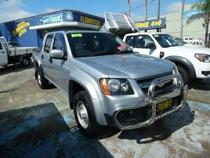 2010 Holden Colorado RC MY11 LX (4x2) Silver 4 Speed Automatic Crew Cab P/Up Homebush West Strathfield Area Preview