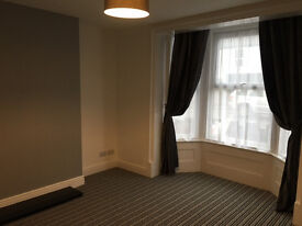 Newly refurbished large one bed ground floor apartment with allocated parking