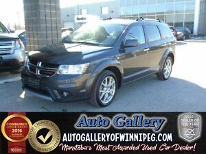 2016 Dodge Journey R/T AWD *7 Pass/Lthr