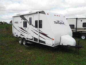 2007 Palomino T21FBSL Ultra Lite Travel Trailer with slideout