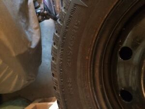 Winter Tires in Excellent Condition Kitchener / Waterloo Kitchener Area image 2