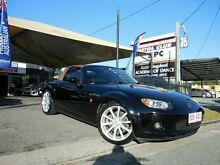 2006 Mazda MX-5 Leather Pack NC30F1 Black 6 Speed Manual Convertible Southport Gold Coast City Preview