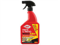 Doff Systemic Path & Patio Weedkiller 1Ltr (Discount pack of 10)