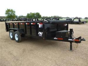 -*-*New 7ft x 16ft Tandem Axle Dump Trailer by SWS*-*-