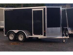 CargoPro Stealth 6x12 all aluminum enclosed cargo trailer 6K GVW