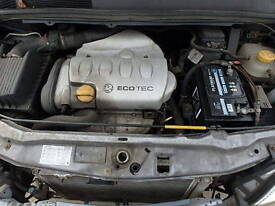 Vauxhall Zafira, Astra 1.8 16V Manual Gearbox Breaking For Parts (2004)