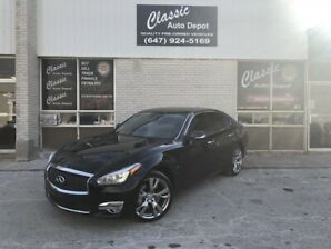 2015 INFINITI Q70 *AWD*ONLY 58,000KM*FULLY LOADED*REBUILT TITLE*