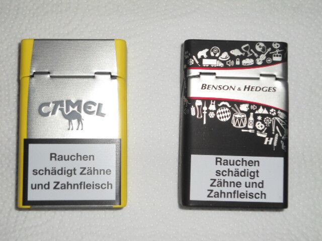Zigarettenbox Zigarettenetui Hülle Zigarettenschachtel Metall Blech