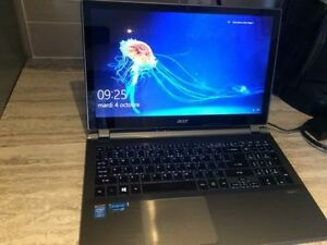 Laptop Processeur I5-4200u + SSD120GB + 8GB + Touchscreen
