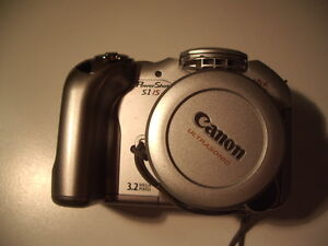 Canon PowerShot S1 IS - Not Working