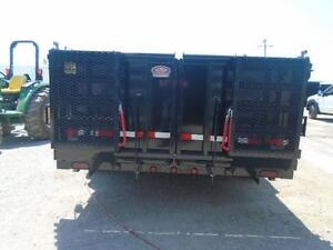 ULTIMATE DUMP TRAILER - 6 TON QUALITY 7 X 12' BED W/COMBO GATE London Ontario image 2