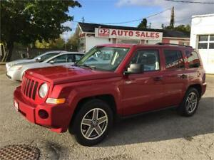2009 Jeep Patriot North Edition/4x4/Automatic/Certified
