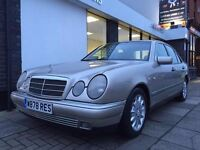 Mercedes-Benz E Class 2.8 E280 Elegance 4dr LOW RECORDED MILEAGE