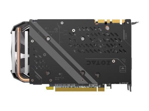 ZOTAC GeForce GTX 1080 Mini, ZT-P10800H-10P, 8GB GDDR5X IceStorm Cooling, Dual F 3