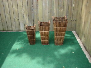 3-pcs basket sets for decoration your items Sarnia Sarnia Area image 1