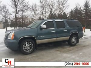 2008 GMC Yukon XL SLT 4X4 8 PASSENGER, LEATHER, SUNROOF