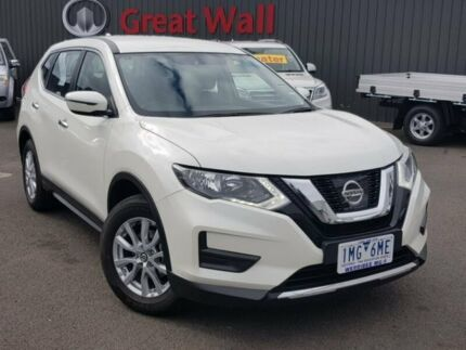 2018 Nissan X-Trail White Constant Variable Wagon Hoppers Crossing Wyndham Area Preview