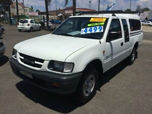 2000 Holden Rodeo TFR9 LX White 5 Speed Manual Spacecab Penrith Penrith Area Preview