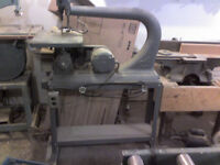 """iron 24"""" throat sroll saw or jig saw on stand with casters 499-0676"""