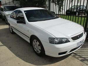 2006 Ford Falcon BF Mk II XT White 4 Speed Sports Automatic Sedan Tottenham Maribyrnong Area Preview