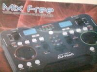 MIX FREE WIRELESS USB DJ CONTROLLER