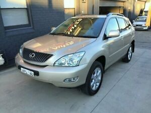 2003 Lexus RX330 MCU38R Sports Gold 5 Speed Sequential Auto Wagon Peakhurst Hurstville Area Preview