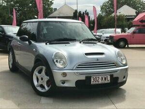 2002 Mini Hatch R53 Cooper S Silver 6 Speed Manual Hatchback South Toowoomba Toowoomba City Preview