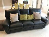 Comfortable Real Leather Quality Sofa