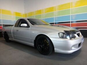 2004 Ford Falcon BA XR8 Silver 5 Speed Manual Utility Wangara Wanneroo Area Preview