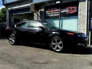 2012 ACURA TL SH-AWD W/TECH PKG **MANUAL 6 SPEED**