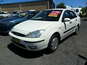 2003 Ford Focus LR CL White 4 Speed Automatic Sedan Mudgee Mudgee Area Preview
