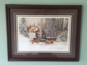 "Douglas Laird ""Wish List"" Limited Edition Print Framed"