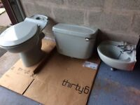 Toilet & Sink suitable for cloakroom