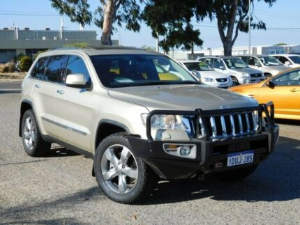 2012 Jeep Grand Cherokee WK MY2012 Overland Gold 6 Speed Sports Automatic Wagon Wangara Wanneroo Area Preview