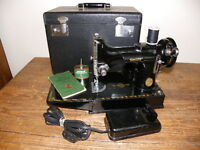 WANTED** Small Portable Singer Sewing Machines like below
