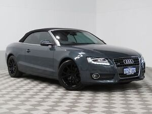 2011 Audi A5 8T MY12 2.0 TFSI Quattro Grey 7 Speed Automatic Cabriolet East Rockingham Rockingham Area Preview