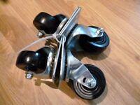 Homebase Heavy duty Castors Wheel plate 64mm X4