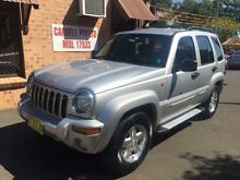 2003 Jeep Cherokee KJ Limited (4x4) Silver 4 Speed Automatic Wagon Campbelltown Campbelltown Area Preview