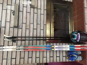 Cross Country Salomon Ski Package