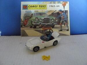 corgi toys ancien voiture de james bond toyota 2000 gt au 1 43 me rare ebay. Black Bedroom Furniture Sets. Home Design Ideas