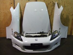 JDM HONDA S2000 FRONT END NOSE CUT BUMPER HID HEAD LIGHTS HOOD