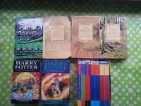 HARRY POTTER AND J.R.R TOLKIEN BOOKS