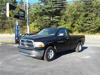 2012 DODGE RAM REG CAB 4WD...LOADED!! TOW PACKAGE AND BLUETOOTH!
