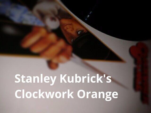 Stanley Kubrick's Clockwork Orange 12 inch Record