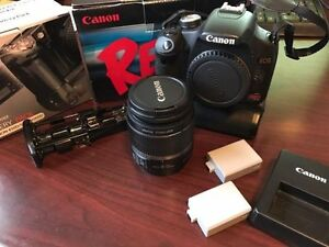 Canon T1i - 18-55mm IS LENS - Multiple Accessories - 350$