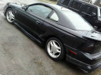 1997 Ford Mustang custom body, lowered, alarm, new exhaust &more