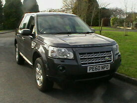 60 REG LAND ROVER FREELANDER 2 2.2TD4 158bhp 4X4 GS 5 DOOR ESTATE IN MET GREY