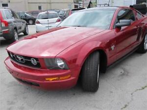 2009 Ford Mustang Panoramic Moonroof B.Tooth A/C Clean Carproof