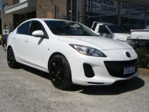 2013 Mazda 3 BL MY13 Neo Pearl White 5 Speed Automatic Sedan Wangara Wanneroo Area Preview
